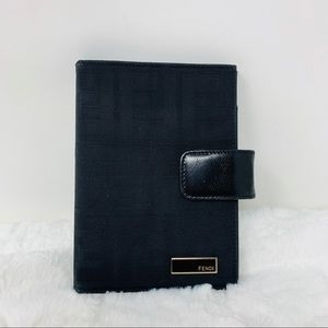 Authentic Fendi Agenda Wallet